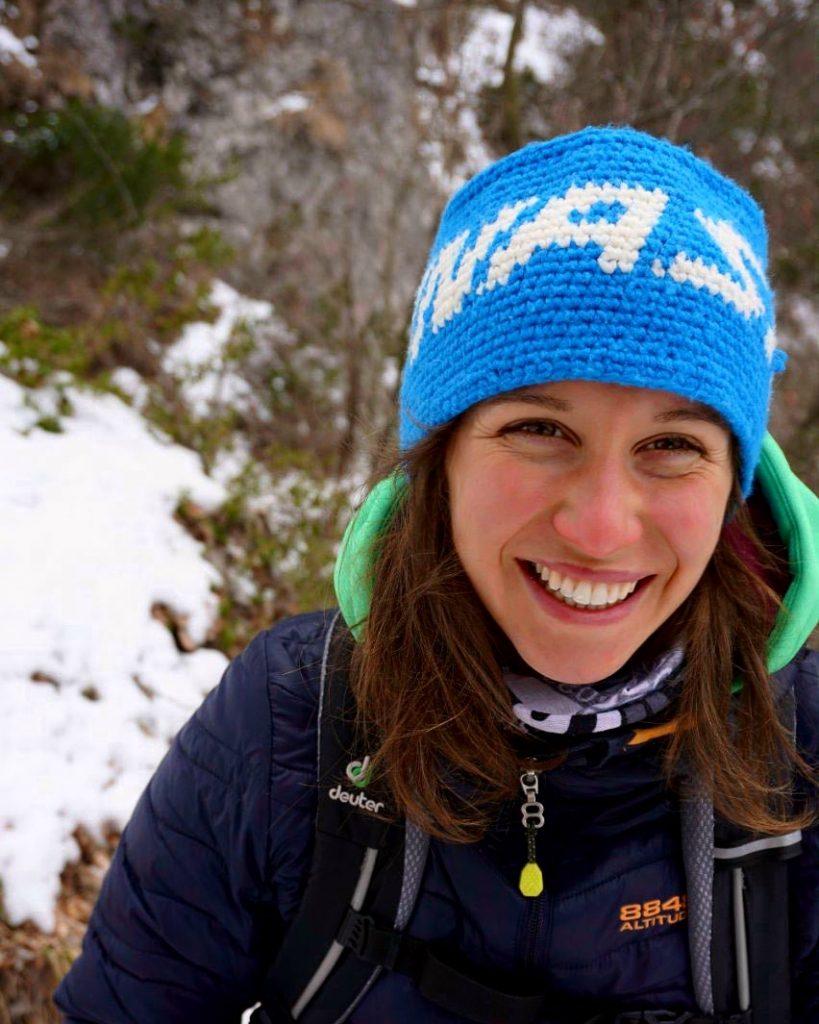 Yoga und Bergsport in Bad Reichenhall mit Lisa Ziemer - Bild während einer Bergwanderung aufgenommen