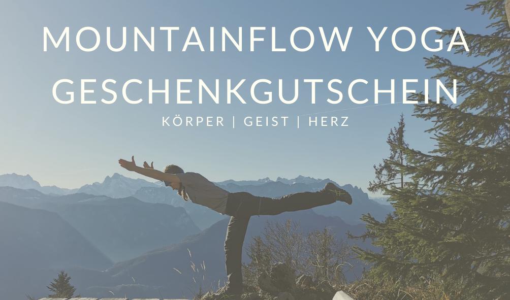 Yoga Gutschein von Mountainflow Yoga Bad Reichenhall
